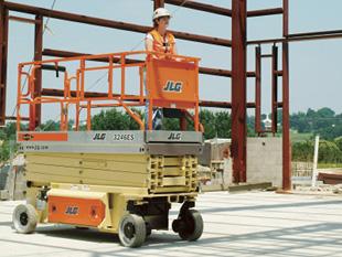 Elevador eléctrico de tijera. Modelo 3246 ES