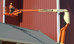 Elevador de pluma articulada. Modelo 600 AJ