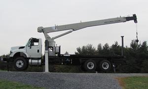 Rigging Grúa Titán International de 15 toneladas. Mod: 500E2. (Manitowoc)