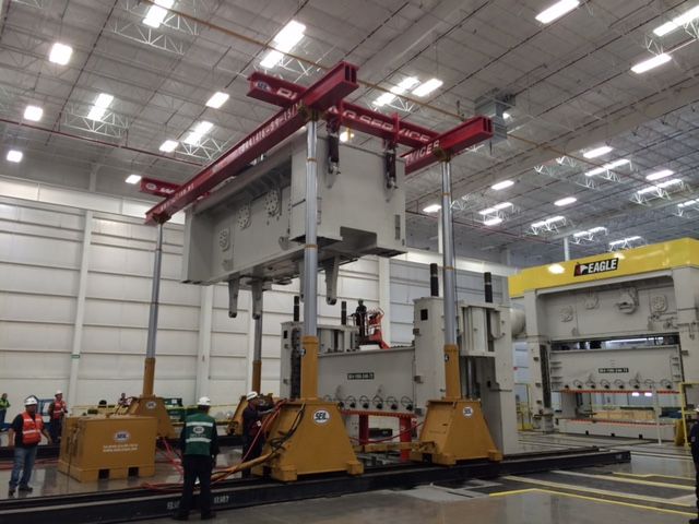 Gantry de 500 tons